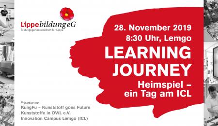 """Einladung zur Learning Journey """"HEIMSPIEL – Ein Tag am ICL"""" am 28.11.2019"""